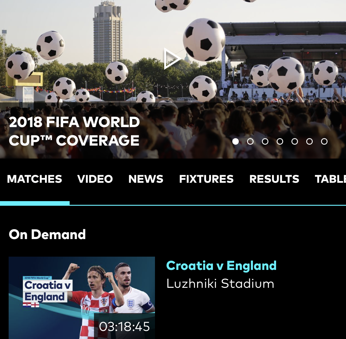 optus world cup app detail