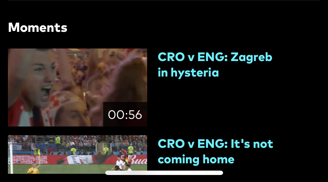 optus world cup app highlights