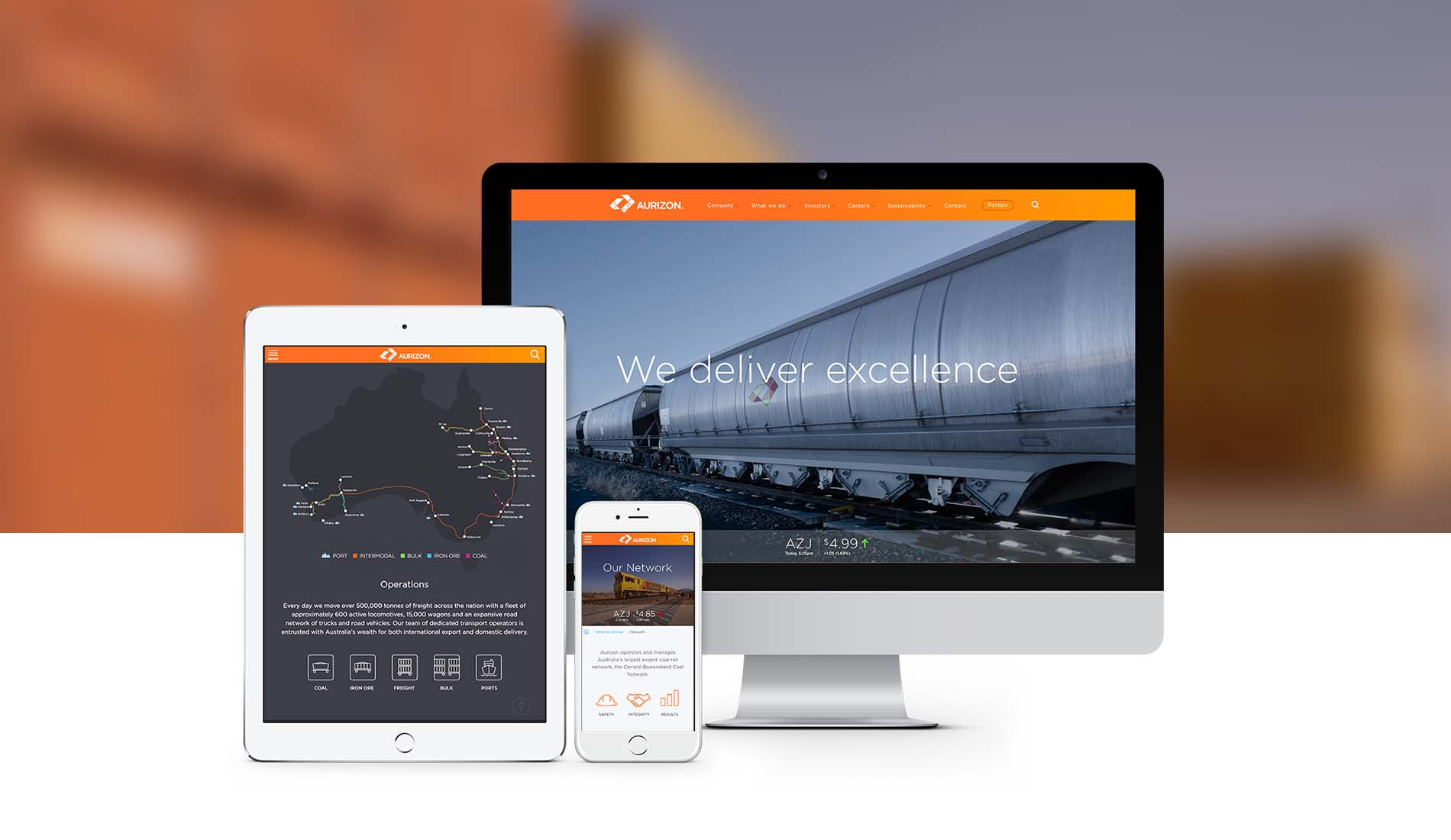 Helping Aurizon deliver digital excellence