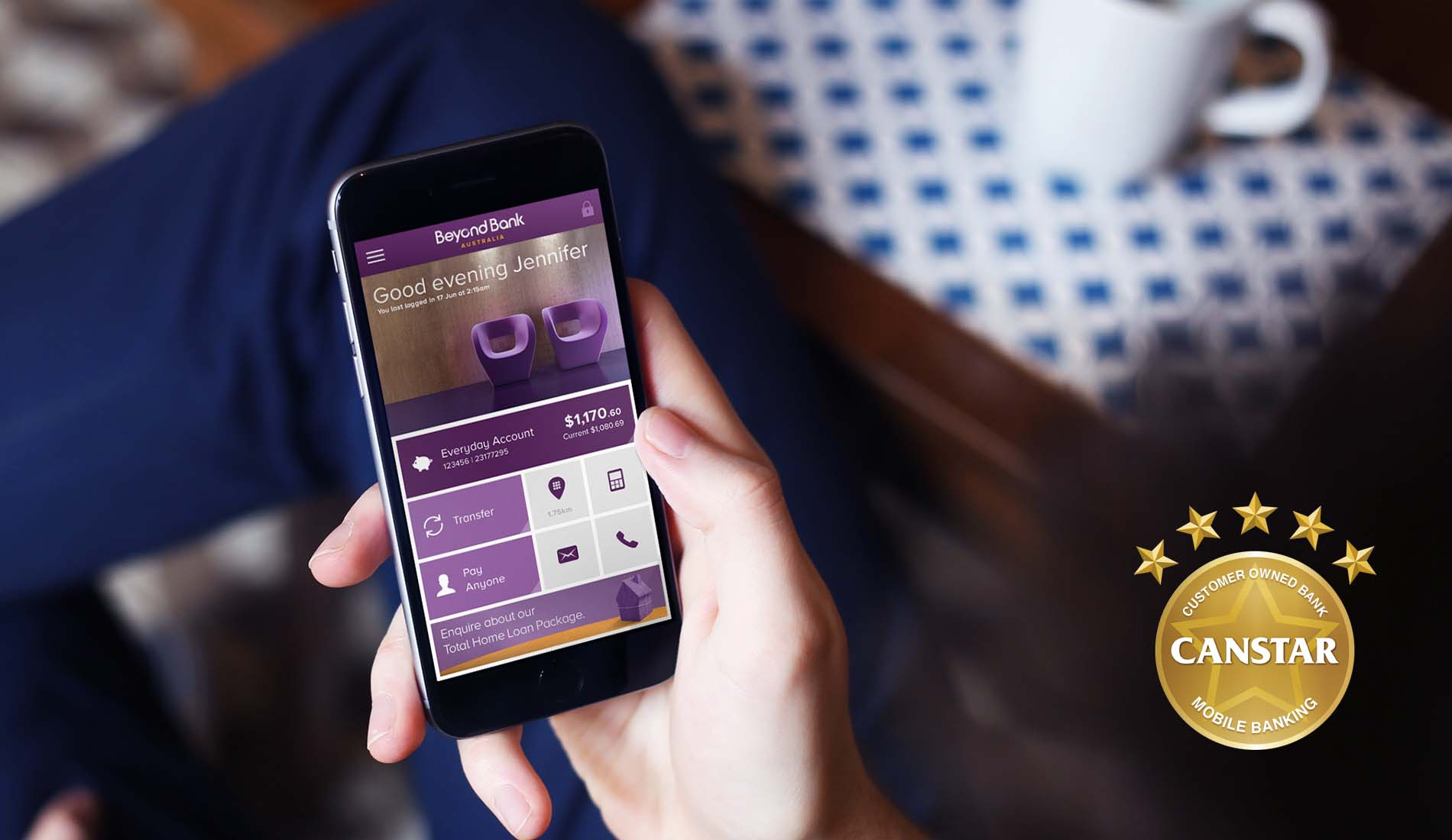 Beyond Bank mobile banking app wins CANSTAR award