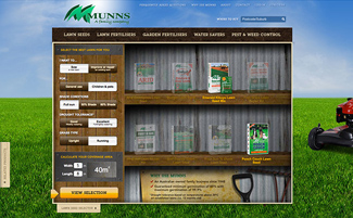 Munns iPad App and Website