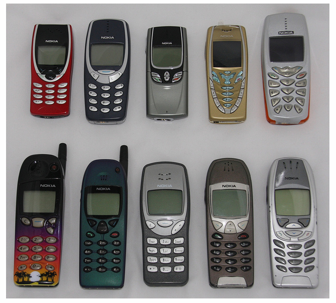 nokia mobile phones from 2001